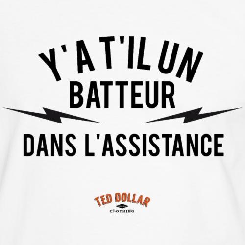 Y'a t'il un batteur dans l'assistance - T-shirt contrasté Homme