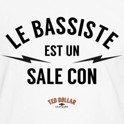 Le bassiste est un sale con - T-shirt contrasté Homme