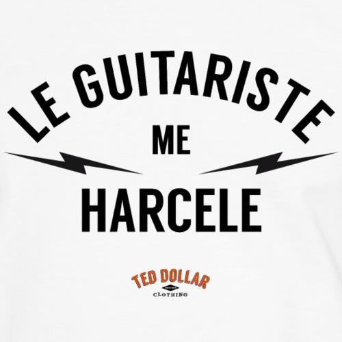 Le guitariste me harcèle - T-shirt contrasté Homme