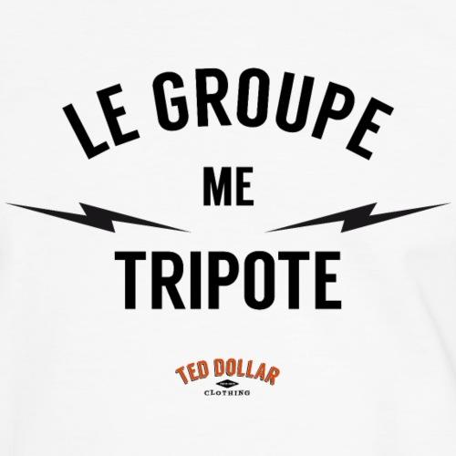 Le groupe me tripote - T-shirt contrasté Homme