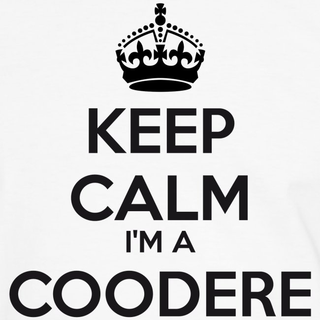 Coodere keep calm