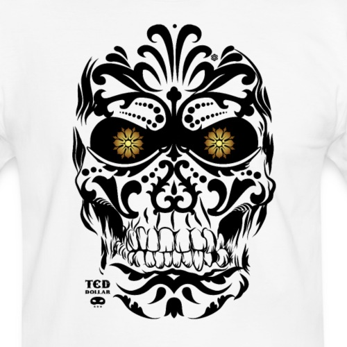 Mexican Skull - T-shirt contrasté Homme