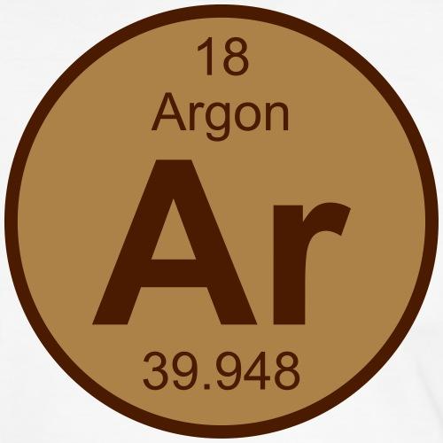 Argon (Ar) (element 18) - Men's Ringer Shirt