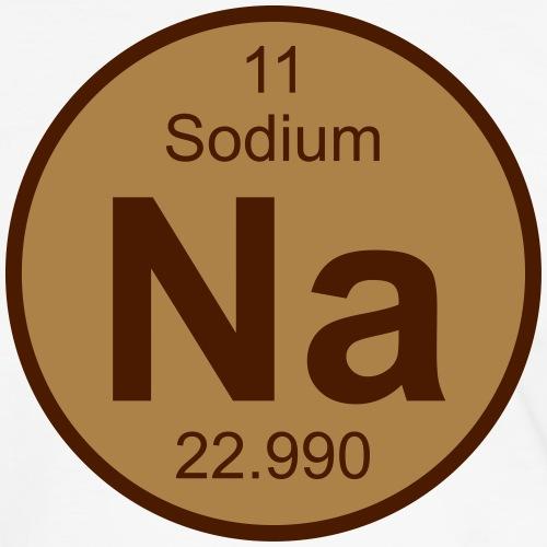 Sodium (Na) (element 11) - Men's Ringer Shirt
