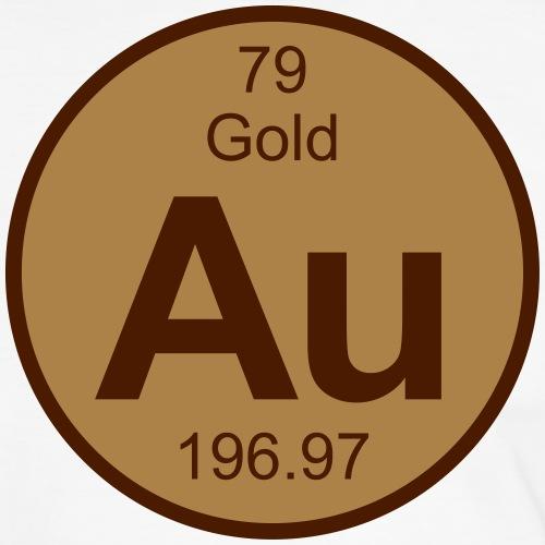 Gold (Au) (element 79) - Men's Ringer Shirt