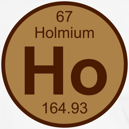 Holmium (Ho) (element 67) - Men's Ringer Shirt