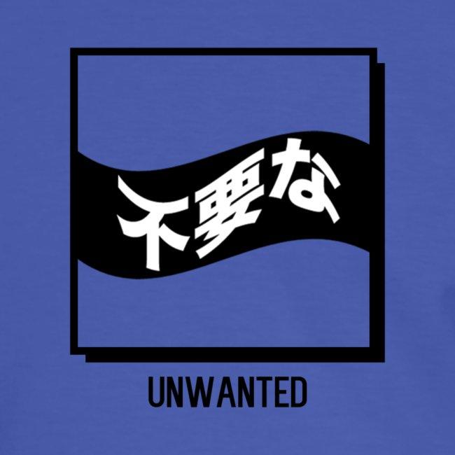 UNWANTED Japanese Tee White