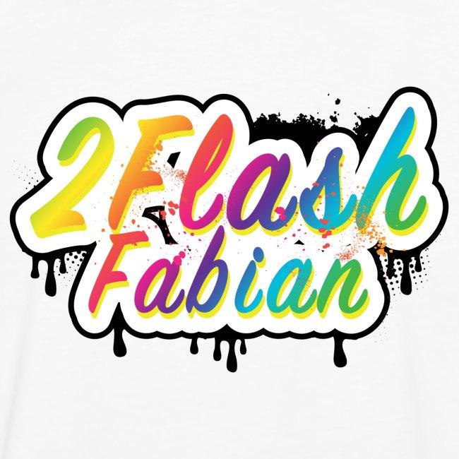 2Flash Fabian Backprint weiß