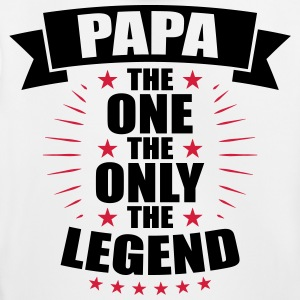 Papa The One The Only The Legend fathers day - Kids' Premium Hoodie