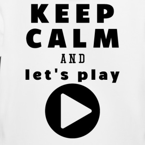 Keep Calm And Let's Play - Kinderen trui Premium met capuchon