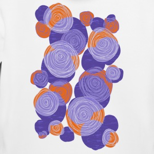 Abstract flowers 003 - Kids' Premium Hoodie