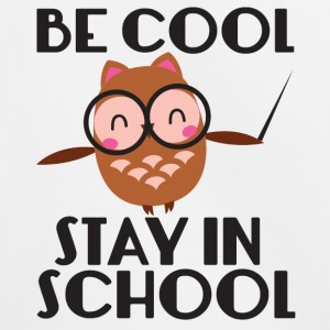 Teacher / School: Be Cool. Stay In School. - Kids' Premium Hoodie