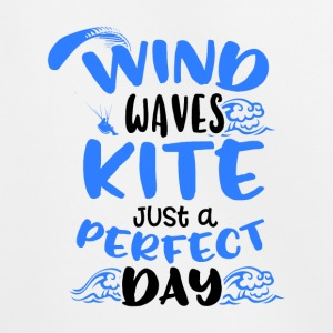 Wind Waves Kite Just A Perfect Day - Kinder Premium Hoodie