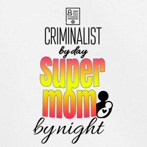 Criminalist by day super mom by night - Kinder Premium Hoodie