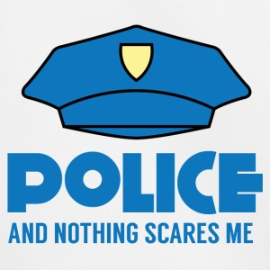 Polizei: Police And Nothing Scares Me - Kinder Premium Hoodie