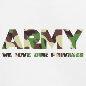 Militære / Soldiers: Army - We Love Our Private - Premium Barne-hettegenser