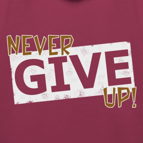 Never Give Up - Lasten premium huppari
