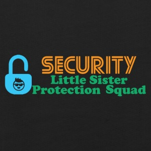 BIG Borther SECURITY - Kinderen trui Premium met capuchon