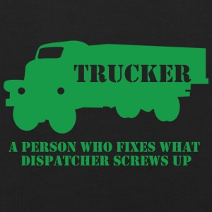 Trucker / truck driver: A person who fixes what - Kids' Premium Hoodie