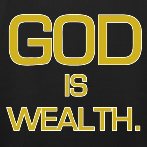 God is wealth. - Kids' Premium Hoodie
