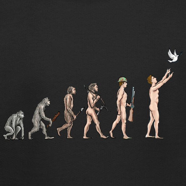 Evolution of Peace