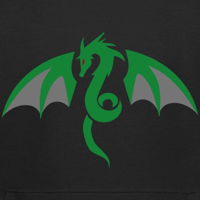 Red eyed green dragon