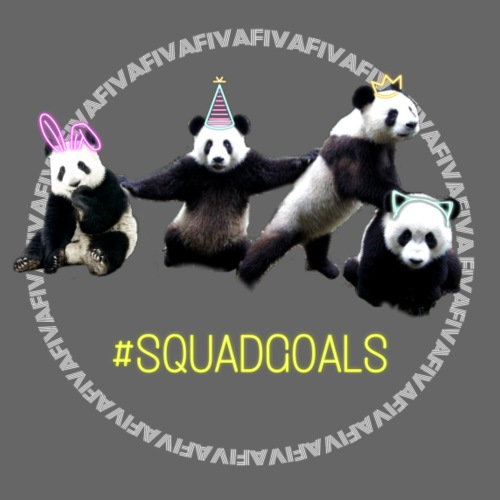 squadgoals - Premium-Luvtröja barn