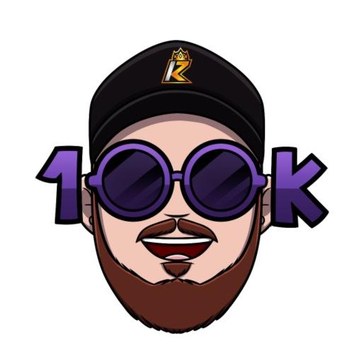 100K Twitch Logo (utan bakgrund) - Premium-Luvtröja barn