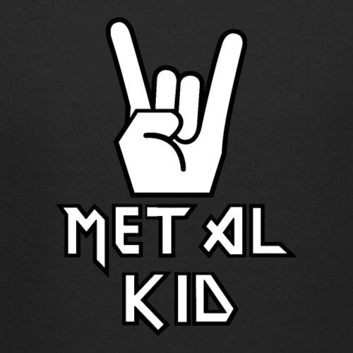 Heavy Metal Kid Kinder Musik Rocker - Kinder Premium Hoodie