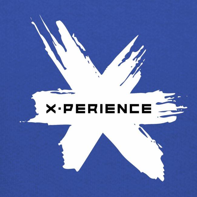 x-perience Logo weiß