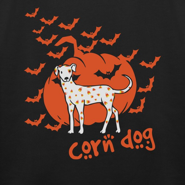 Korn Hund Mais Hunde Halloween Design