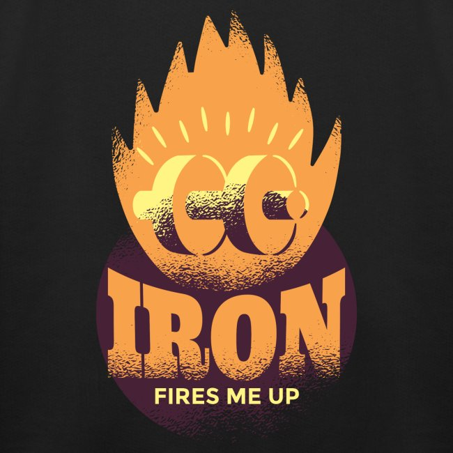 Eisen Feuer feuert mich an Bodybuilding Fitness