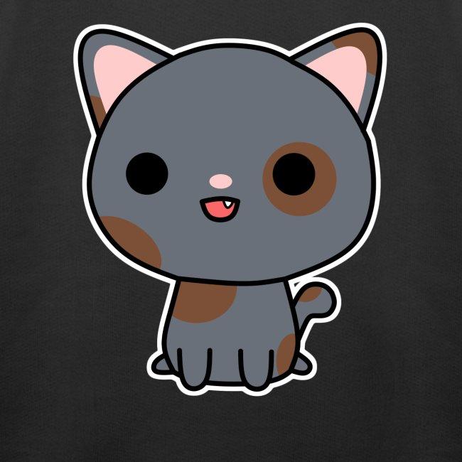Glückliche Katze