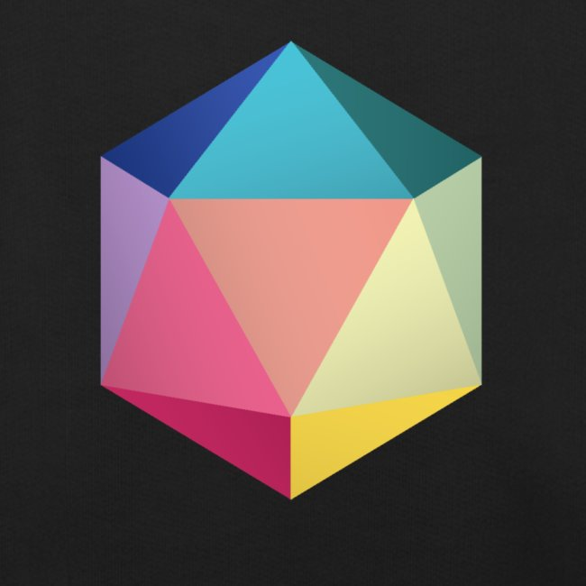 Colourfull d20 - D&D Dungeons and dragons dnd