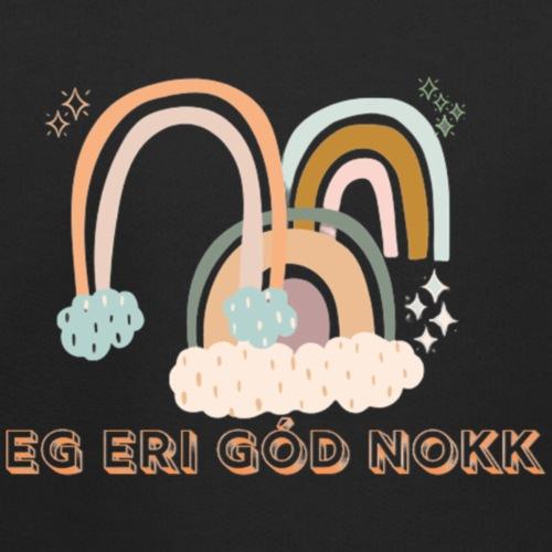 góð nokk - Premium hættetrøje til børn