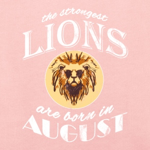 The strongest lions are born in August! - Kids' Premium Hoodie