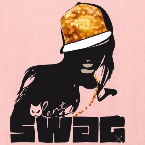 swag gold black woman rap gangster boss hot sexy - Kids' Premium Hoodie