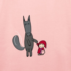 The Wolf and Little Red Riding Hood - Kids' Premium Hoodie