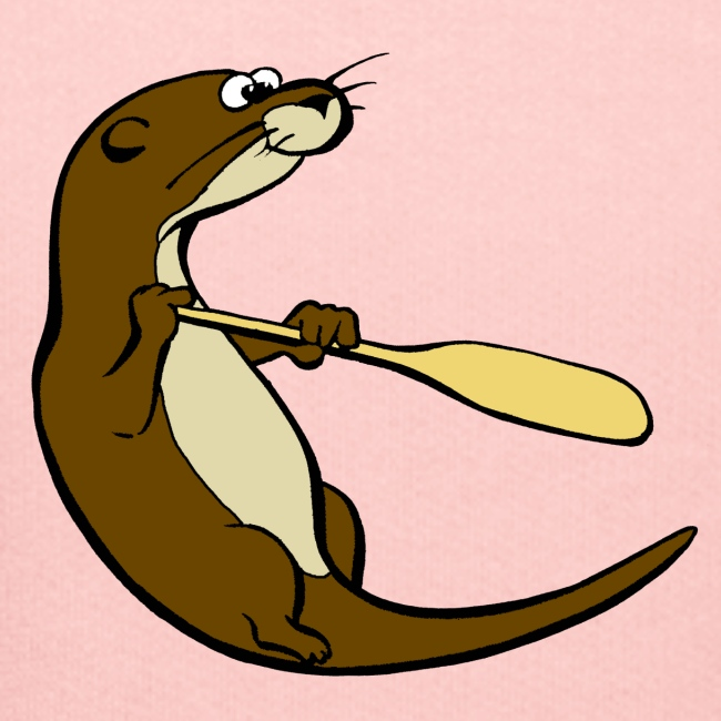 Classic Song of the Paddle otter logo