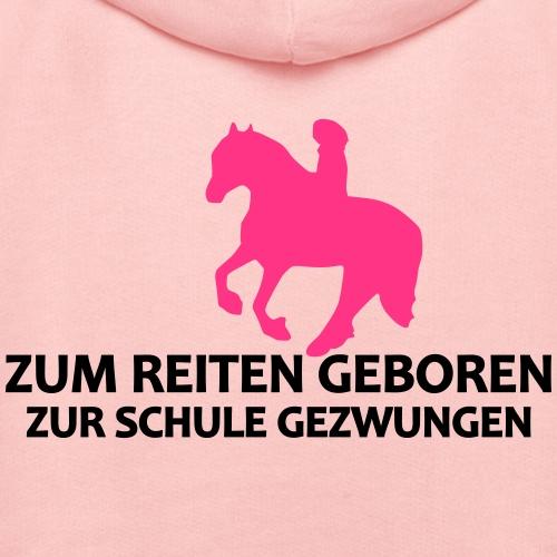 Zum Reiten geboren - zur Schule gezwungen (Friese) - Kinder Premium Hoodie
