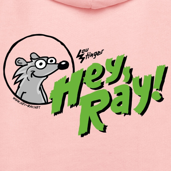 Hey Ray Logo green