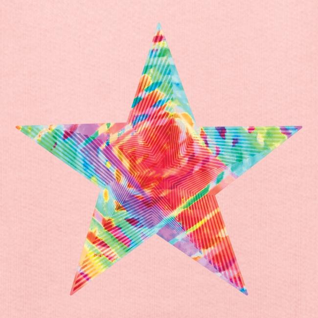 Color star of david