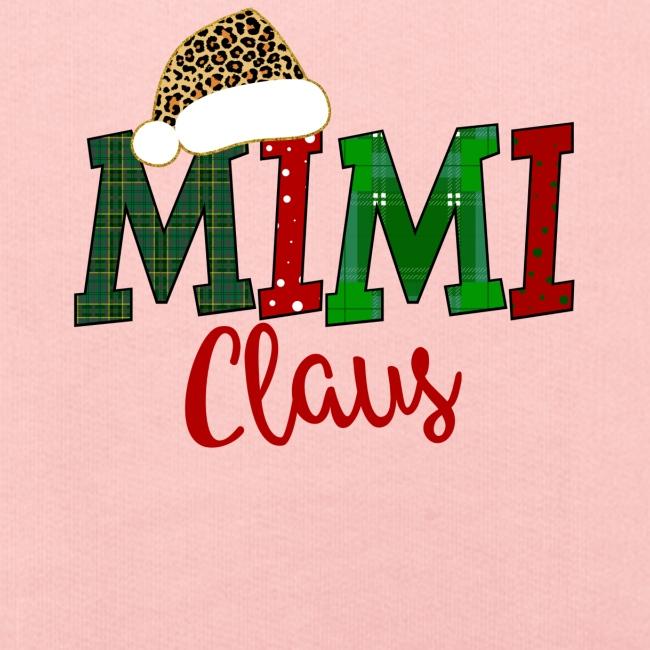 Mimi Claus Plaid And Polkadot