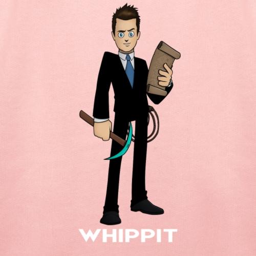 ChrisWhippit Spel avatar (Vit text) - Premium-Luvtröja barn