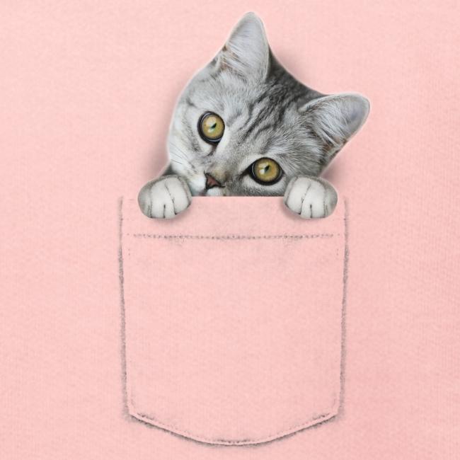 Vorschau: cat pocket - Kinder Premium Hoodie