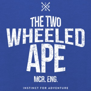 Two Wheeled Ape Logotype Biker T shirt - Kids' Premium Hoodie