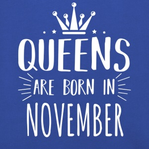 Shirt Queen Born november - Kinderen trui Premium met capuchon