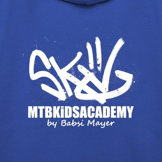 mtb kids academy3 white