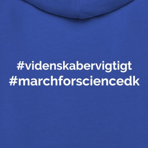 March for Science Danmark - Kids' Premium Hoodie