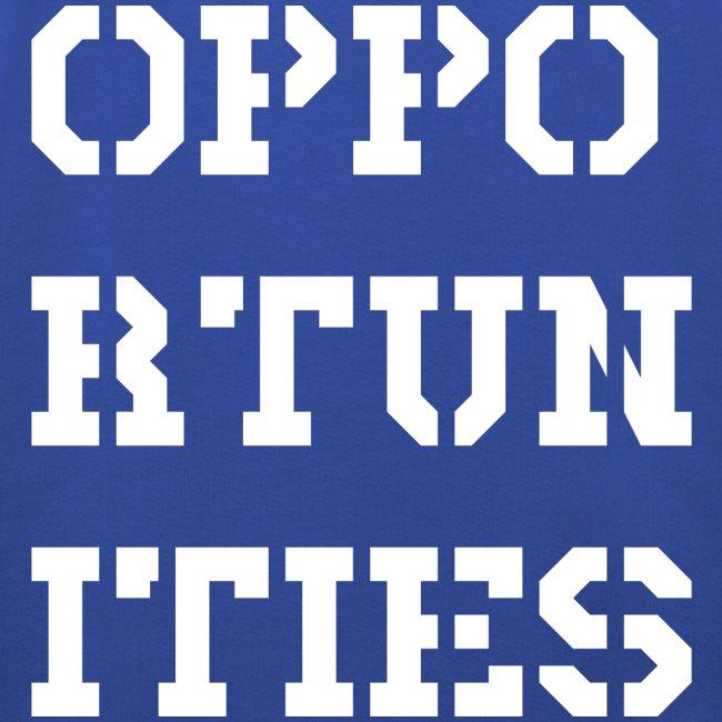Opportunities - Gelegenheiten - weiß